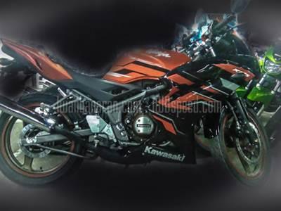 Kawasaki Ninja 150 striping terbaru 2015 004 Pertamax7.com