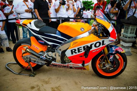 Launching New Honda RC213V 2015 bali Indonesia Pertamax7.com_-3