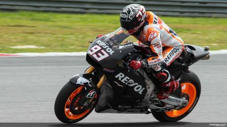 marquez tercepat di latihan pramusim motogp sepang 2015