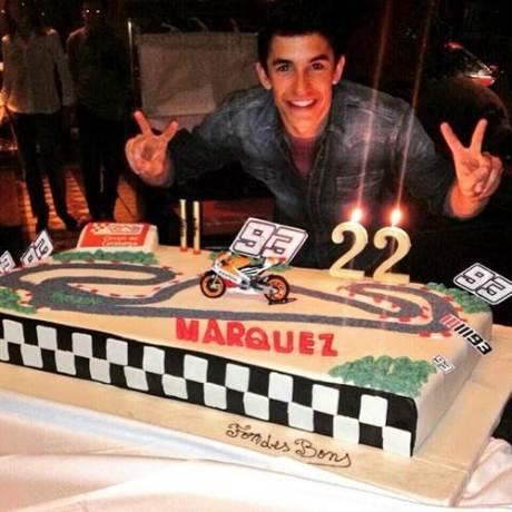 marquez ulang tahun ke 22 17 februari 2015