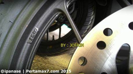 Merk Velg honda vario 150 ZCW made in China 001 Pertamax7.com