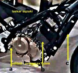 mesin motor sport suzuki 150 cc dohc