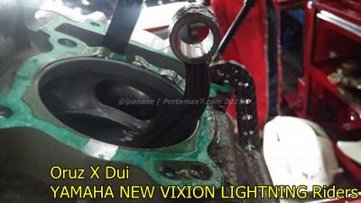 Mesin yamaha New Vixion hancur setelah terjang banjir 009 Pertamax7.com