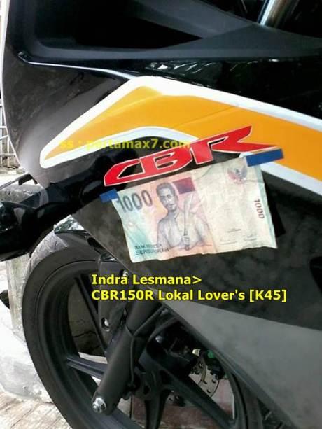 modifikasi honda CBR150R lokal jadi CBR1000 pertamax7.com
