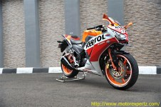Modifikasi Honda CBR150R lokal Pro Arm VRF400 001 Pertamax7.com