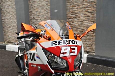 Modifikasi Honda CBR150R lokal Pro Arm VRF400 005 Pertamax7.com