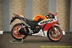 Modifikasi Honda CBR150R lokal Pro Arm VRF400 006 Pertamax7.com