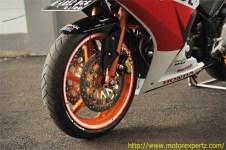 Modifikasi Honda CBR150R lokal Pro Arm VRF400 008 Pertamax7.com