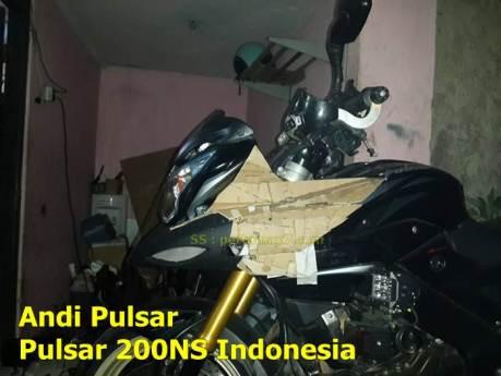 Pertama di Indonesia modifikasi bajaj pulsar 200NS jadi pulsar 200 Adventure sport