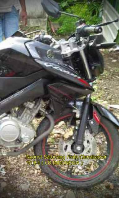 Shock Depan Yamaha New Vixion Ini Patah Usai nge-Rem Mendadak 002 Pertamax7.com