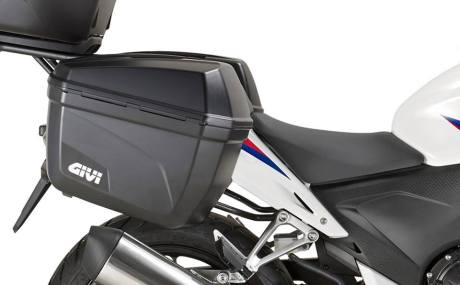 Side Box Givi E22 on Honda CBR250R 001 pertamax7.com