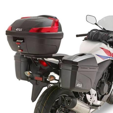 Side Box Givi E22 on Honda CBR250R 002 pertamax7.com