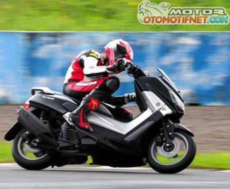 test-ride-Yamaha-NMAX-150-Sentul-Bogor tembus 115 km per jam