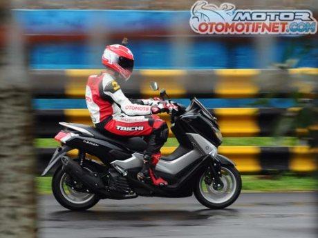 test-ride-Yamaha-NMAX-150 tembus 155 kmjam