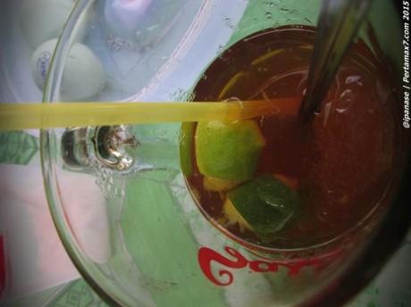 Trik hemat pengen Es lemon Tea di Warung Soto 002 Pertamax7.com
