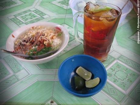 Trik hemat pengen Es lemon Tea di Warung Soto 003 Pertamax7.com