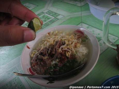 Trik hemat pengen Es lemon Tea di Warung Soto 004 Pertamax7.com