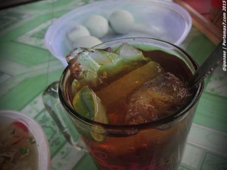 Trik hemat pengen Es lemon Tea di Warung Soto 005 Pertamax7.com