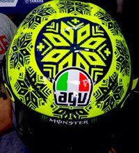Valentino Rossi Helmet Pre Season motogp Sepang 2015  005 pertamax7.com