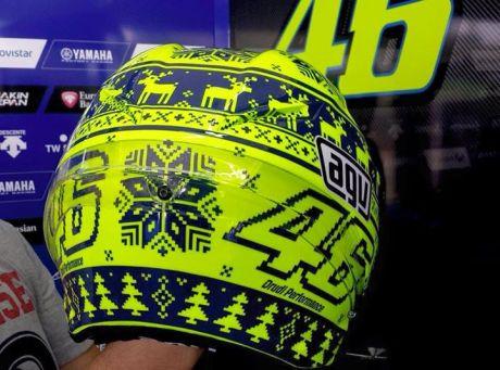 Valentino Rossi Helmet Pre Season motogp Sepang 2015  007 pertamax7.com