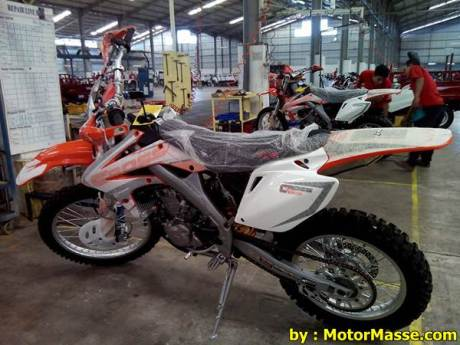 viar cross x 250 indonesia