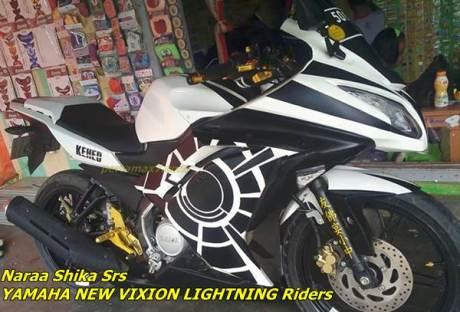 yamaha new vixion modifikasi fairing ninja 250 4T 2015