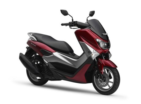 Yamaha NMAX 155 climax RED