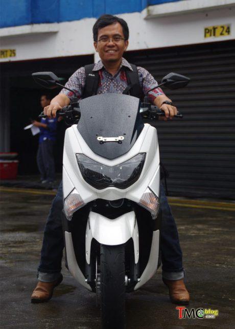 Yamaha NMAX 155 Premier White