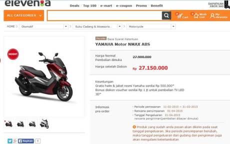 yamaha nmax diskon beli online pertamax7.com