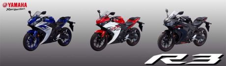 Yamaha YZF-R3 Thailand