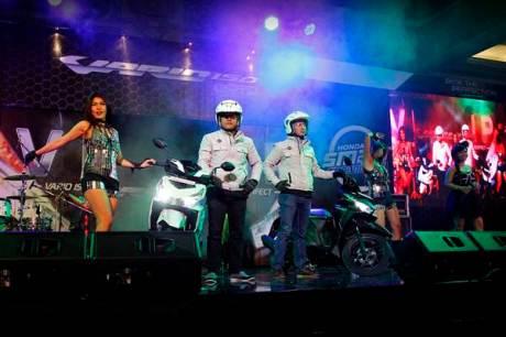 Honda Vario 150 eSP diperkenalkan secara resmi dalam VIP Exclusive Launching kepada masyarakat Yogyakarta dan sekitarnya dengan kolaborasi pernampilan Ozora Dancer, FDJ Rose Vanila, dan DOS Percussion.