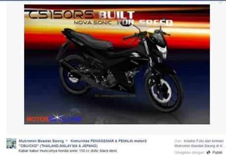 bikers malaysia penasaran honda sonic reborn K56A