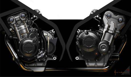 engine honda CBR500R
