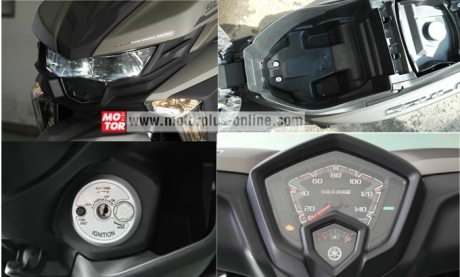 fitur alll new yamaha soul GT 125 galf face helm in