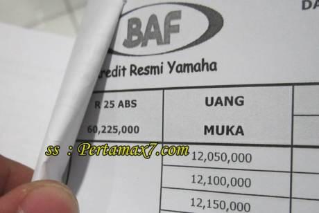harga yamaha R25 ABS area Jawa Tengah pertamax7.com