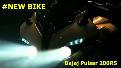 headlamp projector bajaj pulsar 200RS