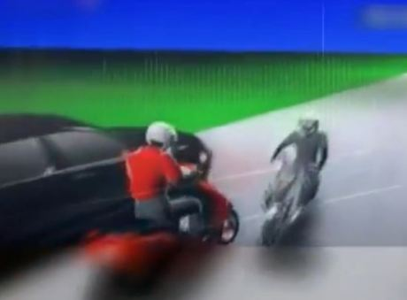 ilustrasi kecelakaan maut di seret mobil sejauh 30 km di cimahi