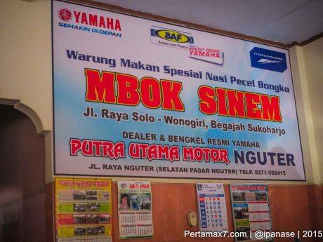 Makan Siang Nasi Pecel Mbok Sinem Sukoharjo Pertamax7.com_-6