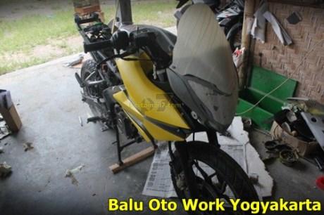 Modifikasi Kawasaki Bajaj Pulsar 200NS Jadi Bajaj Pulsar 200 AS ala balu Oto Work 001 Pertamax7.com