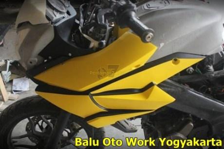 Modifikasi Kawasaki Bajaj Pulsar 200NS Jadi Bajaj Pulsar 200 AS ala balu Oto Work 003 Pertamax7.com