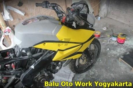 Modifikasi Kawasaki Bajaj Pulsar 200NS Jadi Bajaj Pulsar 200 AS ala balu Oto Work 004 Pertamax7.com