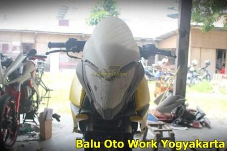 Modifikasi Kawasaki Bajaj Pulsar 200NS Jadi Bajaj Pulsar 200 AS ala balu Oto Work 006 Pertamax7.com