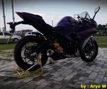 Modifikasi Yamaha r25 Bunglon ala Aryo W000 Pertamax7.com