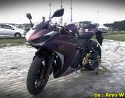 Modifikasi Yamaha r25 Bunglon ala Aryo W011 Pertamax7.com
