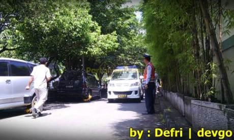 Parkir Sembarangan Roda di gembok Petugas di Solo 001 Pertamax7.com