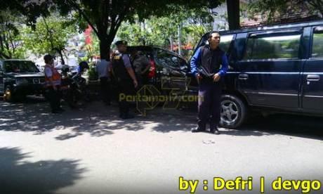 Parkir Sembarangan Roda di gembok Petugas di Solo 003 Pertamax7.com