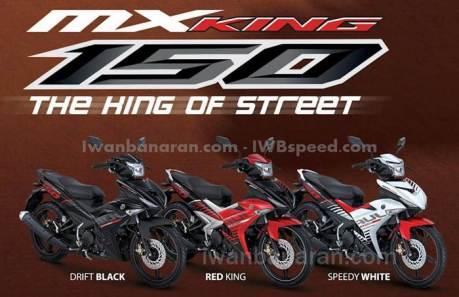pilihan warna Yamaha-Jupiter-MX-King-150 terbaru 2015