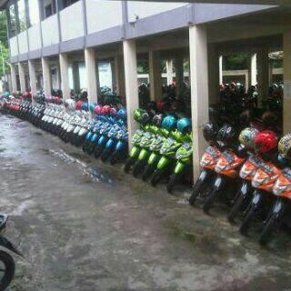 Rapinya Parkir Motor Siswa SMA 2 Karanganyar Jateng