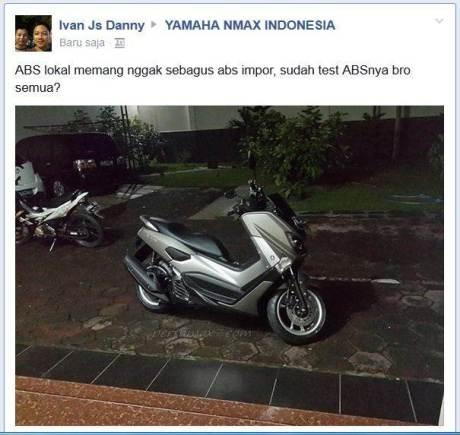 Rem ABS Yamaha NMAX 155 Kurang Bagus