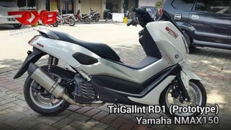 RX8 riset knalpot racing yamaha NMAX 155 005 Pertamax7.com